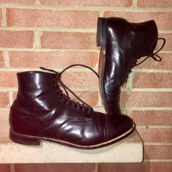 0ad694fbac0 Vintage Men's Stacy Adams Madison size 13D Captoe